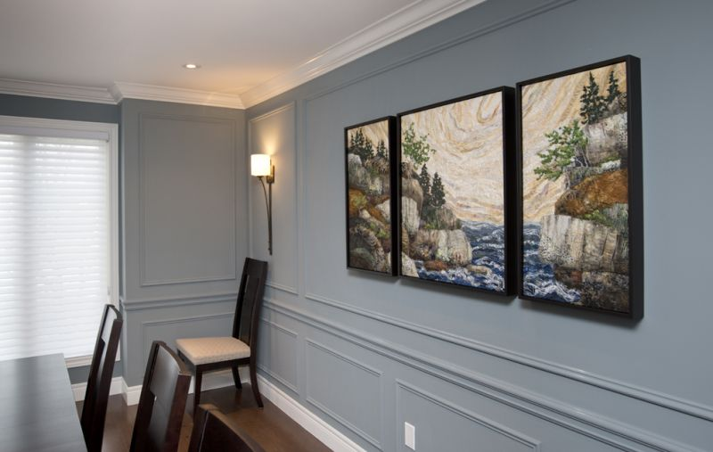 Georgian Bay Inlet Triptych