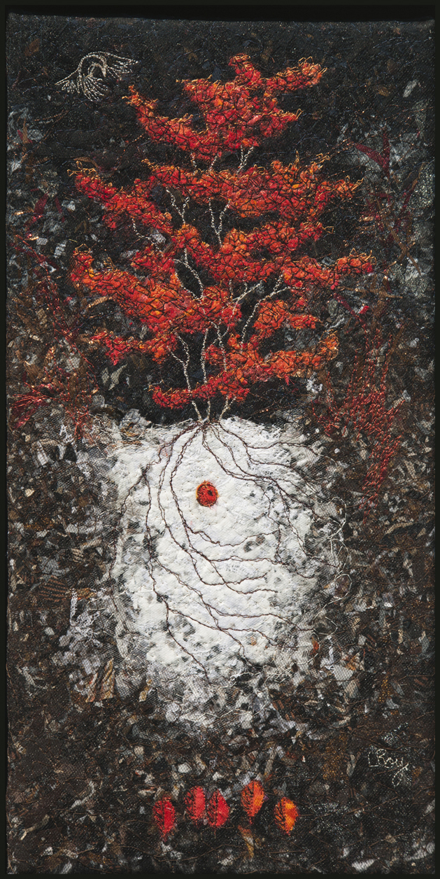 RED HUCKLEBERRY 2012 16X8""