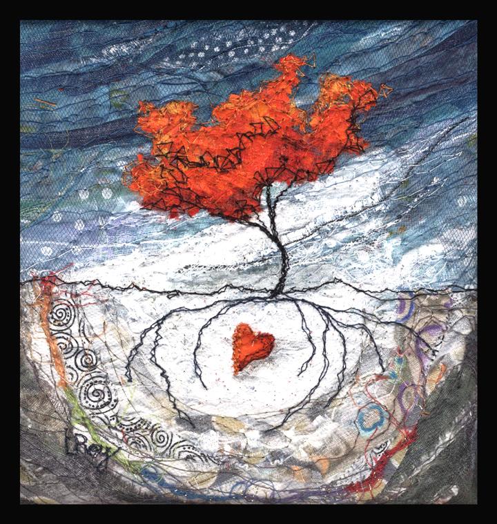 """SECRET HEART #3 2013 6X6"""""""